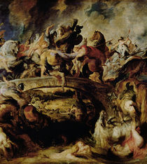 Battle of the Amazons and Greeks von Peter Paul Rubens