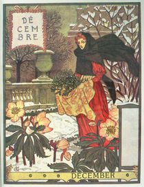 December by Eugene Grasset