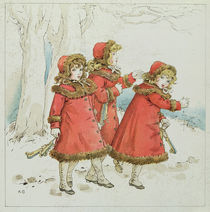 'Winter' from April Baby's Book of Tunes by Kate Greenaway