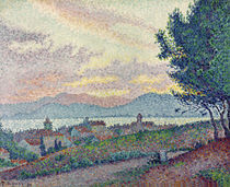 St. Tropez, Pinewood, 1896 von Paul Signac