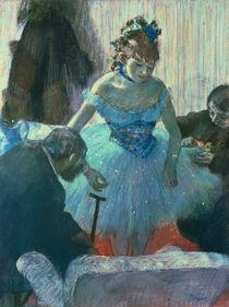 Dancer in her dressing room von Edgar Degas