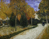Path in the Park at Arles, 1888 von Vincent Van Gogh