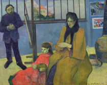 The Schuffenecker Family, or Schuffenecker's Studio by Paul Gauguin