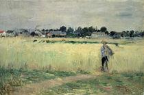 In the Wheatfield at Gennevilliers von Berthe Morisot