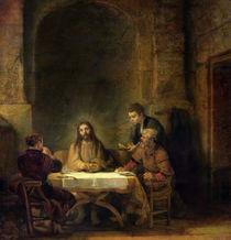 The Supper at Emmaus, 1648 von Rembrandt Harmenszoon van Rijn