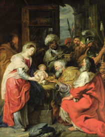 Adoration of the Magi, 1626-29 von Peter Paul Rubens
