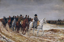 Napoleon on Campaign in 1814 by Jean-Louis Ernest Meissonier