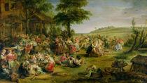 The Kermesse, c.1635-38 by Peter Paul Rubens