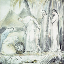 The compassion of Pharaoh's Daughter or The Finding of Moses von William Blake