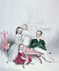 A Group of Children, 19th century; by William Booth