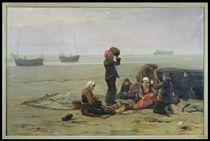 Waiting for the Fish, Berck-sur-Mer by Charles Emmanuel Joseph Roussel