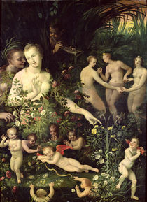 Allegory of Water or Allegory of Love by Fontainebleau School