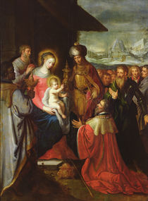 The Adoration of the Magi, c.1620 von Frans the Elder Francken