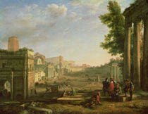 View of the Campo Vaccino, Rome, 1636 by Claude Lorrain
