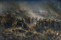 The Gervais Battery at the Siege of Sebastopol by Alphonse Marie de Neuville