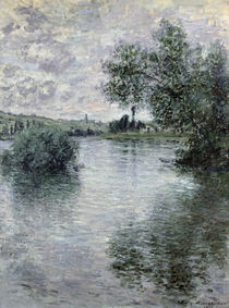 The Seine at Vetheuil, 1879 von Claude Monet