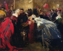 Masked ball at the Tuileries by Jean-Baptiste Carpeaux