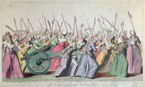 'A Versailles, A Versailles' March of the Women on Versailles by French School