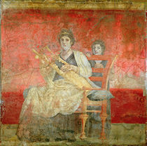 Noblewoman playing a Cithera von Roman