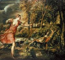 The Death of Actaeon, c.1565 von Titian