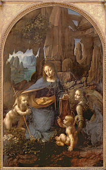 The Virgin of the Rocks , c.1508 von Leonardo Da Vinci