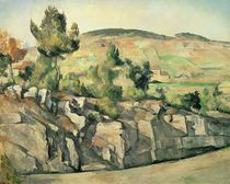 Hillside in Provence, c.1886-90 by Paul Cezanne