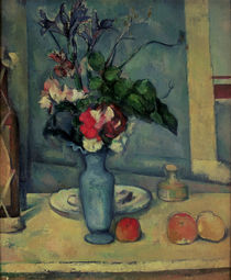 The Blue Vase, 1889-90 by Paul Cezanne