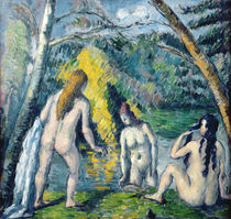 The Three Bathers, c.1879-82 by Paul Cezanne
