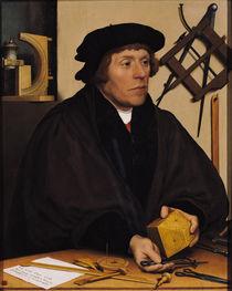 Portrait of Nicholas Kratzer 1528 von Hans Holbein the Younger