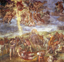 Conversion of St. Paul by Michelangelo Buonarroti