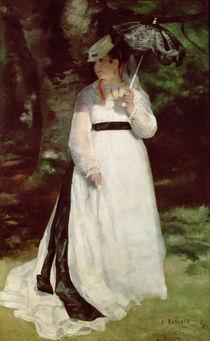 Portrait of Lise, 1867 von Pierre-Auguste Renoir
