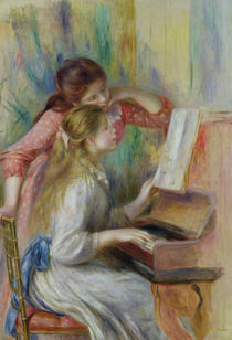 Young Girls at the Piano, c.1890 by Pierre-Auguste Renoir