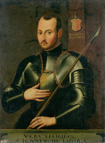 Saint Ignatius of Loyola von French School
