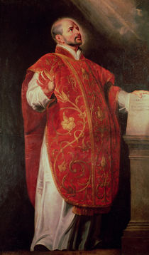 St. Ignatius of Loyola Founder of the Jesuits von Peter Paul Rubens