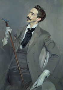 Count Robert de Montesquiou 1897 von Giovanni Boldini