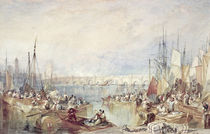 The Port of London by Joseph Mallord William Turner