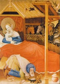 The Birth of Christ, 1404 by Conrad von Soest