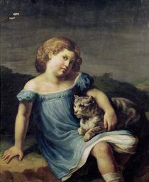 Portrait of Louise Vernet as a Child von Theodore Gericault