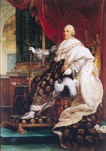 Louis XVIII von Francois Pascal Simon, Baron Gerard