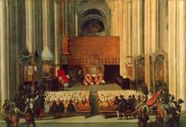 The Council of Trent, 4th December 1563 by Italian School