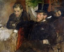 Jeantaud, Linet and Laine, 1871 von Edgar Degas