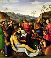 The Lamentation of Christ, 1495 by Pietro Perugino