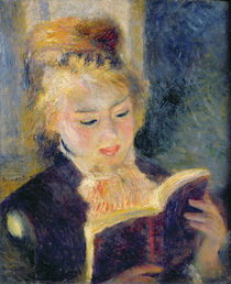 Girl Reading, 1874 von Pierre-Auguste Renoir