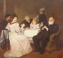 Family Reunion at the Home of Madame Adolphe Brisson von Marcel Andre Baschet