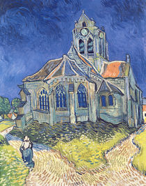 The Church at Auvers-sur-Oise von Vincent Van Gogh