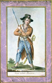 Parisian Sans-culotte by French School