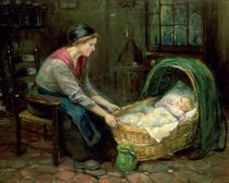 Mother and Baby by Dutch School