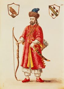 Marco Polo, dressed in Tartar costume