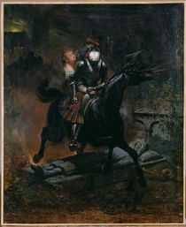 Ballad of Leonore, 1839 by Emile Jean Horace Vernet