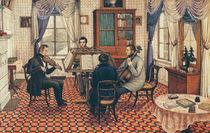 Anthony and Three Friends Playing a String Quartet von Mary Ellen Best